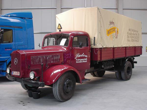 Oldtimer teil 1 mb l 5000 suden 1951 voss 110207 01 for Voss mercedes benz