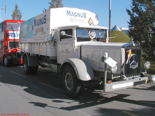 Oldtimer teil 1 mb l 6500 grau for Mercedes benz 6500