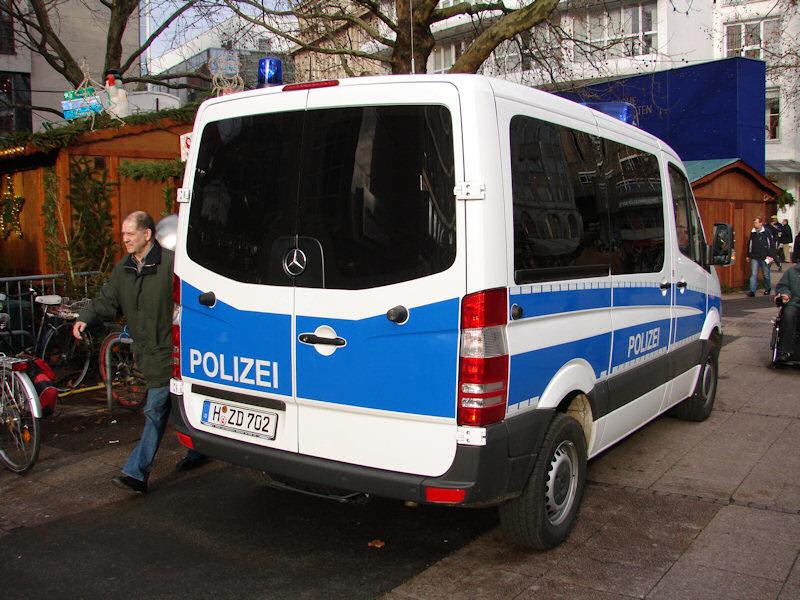 Mercedes G Polizei