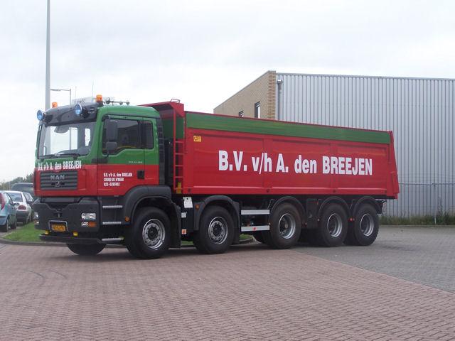 Niederlande 50 t kipper man tga 49480 m 10x4 vnispen Liner 4 50 x 1 20