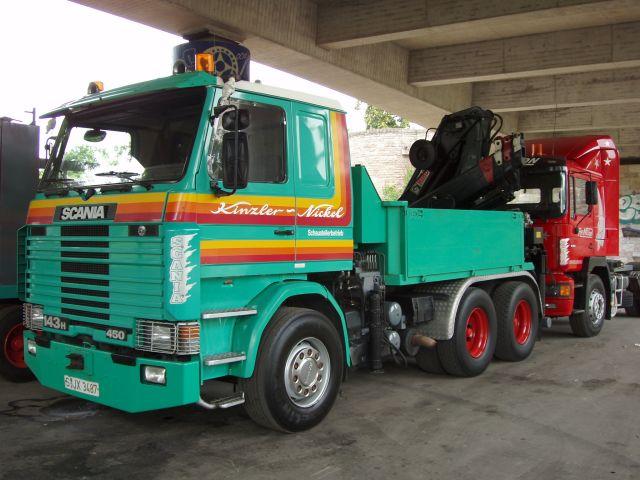 Scania Teil 1scania 143 H 500 Kinzler Nickel Holz 120805 01