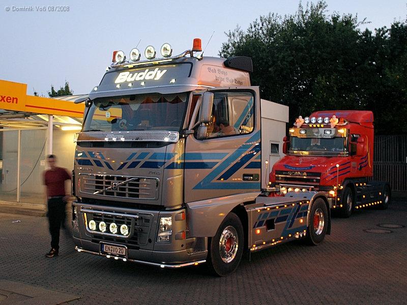 Showtrucks Allgemein Teil 3 Volvo Fh16 660 Silber Voss