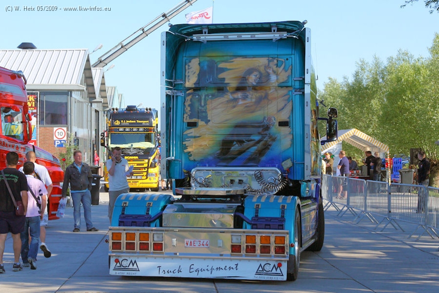 Tekno Event 2009 Teil 1 Scania 164 G 580 Longline Jana