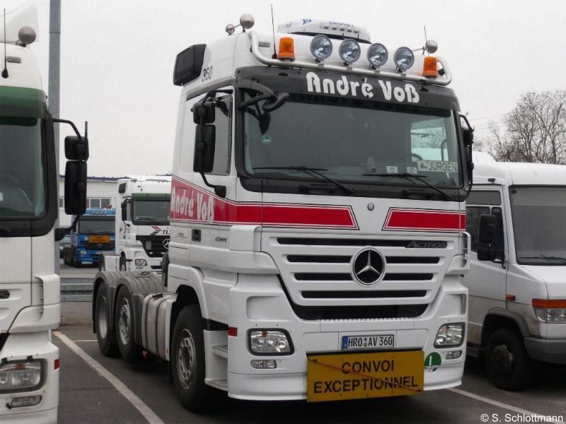 Mercedes benz teil 1 mb actros 2544 mp2 voss schlottmann for Voss mercedes benz
