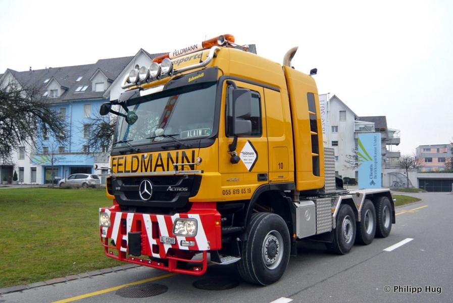 Mercedes benz actros titan slt 8x6 schwerlastzugmaschine 1 for Feldmann mercedes benz